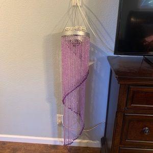 Purple Sparkle Hanging Light